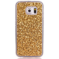 Til Samsung Galaxy S8 Plus S8 Gennemsigtig Case Bag Cover Case Glitter Shine Soft TPU til Samsung Galaxy S7edge S7 S6 Kanten S6 S5 Mini S5