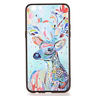 For oppo r9s r9s plus case dækning mønster bag cover case hjorte dyr hard pc r9 r9 plus