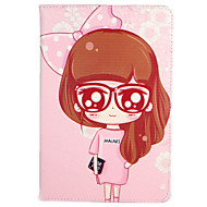 For Apple iPad (2017) Pro 9.7'' Case Cover with Stand Flip Pattern Full Body Case Sexy Lady Flower Hard PU Leather  Air 2 Air ipad2 3 4