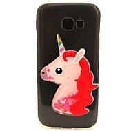 Samsung Galaxy a3 a5 (2017), valamint az esetben terjed Unicorn flash por futóhomok TPU anyag diy telefon esetében a7 (2017) a3 a5 (2016)