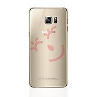 Para samsung galaxy s8 s8 mais caixa de telefone padrão transparente padrão de desenho animado suave tpu para samsung galaxy s7 s6 edge