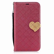 Samsung Galaxy J7 (2017) J5 (2017) suojus kortin haltija lompakon tapauksessa sydämen PU nahka Samsung Galaxy J5 (2016) J3 (2017) J3 J3