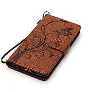 Til huawei p10 lite p10 kuffert kortholder med stativ flip mønster fuld krop sommerfugl hard pu læder p8 lite (2017) y6 ii
