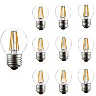 4W LED필라멘트 전구 G45 4 COB 300 lm 따뜻한 화이트 차가운 화이트 AC 220-240 V 10개