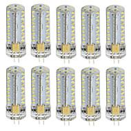 3W LED Φώτα με 2 pin T 81 SMD 3014 260 lm Θερμό Λευκό Ψυχρό Λευκό V 10 τμχ