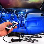 Atmosphère de voiture lampe télécommande sans fil décoration de sol intérieur lampe à pied lumière ambiante rgb lampe à néon