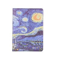 Til æble ipad 9.7 2017 kortholder lommebok stødtæt med stativ automatisk sovevække flip kasse fuld krops taske andet hårdt pu læder til