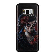 Hoesje voor Samsung Galaxy S8 S8 Plus Case Cover Skelet Hanger patroon PC TPU Combo Sterk Reliëf Druppel Telefoon Hoesje voor Galaxy S7 S7