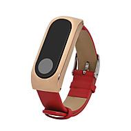 스테인레스 스틸 진짜가죽 가죽 루프 용 Xiaomi 손목 시계