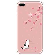 Για Θήκες Καλύμματα Διαφανής Με σχέδια Πίσω Κάλυμμα tok Γάτα Μαλακή TPU για AppleiPhone 7 Plus iPhone 7 iPhone 6s Plus iPhone 6 Plus