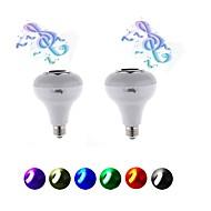 5W LED Έξυπνες Λάμπες 15 SMD 5050 200 lm RGB AC220 V 2 τμχ