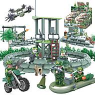 Építőkockák Fejlesztő játék Ajándék Építőkockák Tank Harcos 6 év feletti Játékok