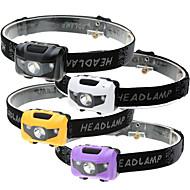 Fejlámpák LED 500 Lumen 4.0 Mód LED AAA 3 Üzemmód Vízálló LED fény Könnyen hordozható Sürgősségi Szuper könnyű Könnyű
