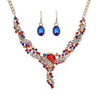 Žene Svadbeni nakit Setovi Dijamant Multi-stone Moda Jewelry Za Vjenčanje Zabave Svakodnevica Vjenčanje Pokloni
