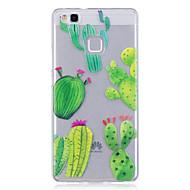 Kotelo huawei p10 lite p10 puhelimen kotelo tpu materiaali imd prosessin kaktus kuvio hd puhelin tapauksessa kunnia 8 p9 lite p8 lite y6