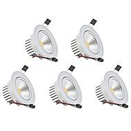 Alaspäin valaisevat LED-valaisimet Lämmin valkoinen Kylmä valkoinen LED 5 kpl