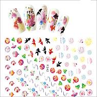 1 Nail Art Samoprzylepna Dziewczyny i młode kobiety 3-D Akcesoria DIY Naklejka Kosmetyki do makijażu Nail Art Design