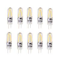 2W LED2本ピン電球 T 2 COB 200 lm 温白色 クールホワイト V 10個