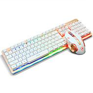 ajazz usbキーボードマウスバックライトマウス6キーdpi 160cmケーブルで調節可能