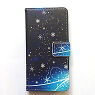 Etui til Samsung Galaxy Grand Prime Kerne Prime Case Cover Kort Holder Pung med Stand Flip Pattern Full Body Case Scenery Hard PU Læder