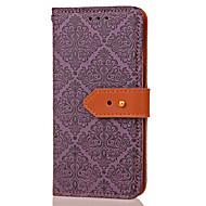 Til samsung galaxy note 5 note 3 kortholder pung med stativ flip præget mønster taske fuld krop kasse blomst hard pu læder til note 4
