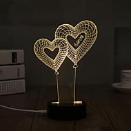 Luz de Decoração LED Night Light-0.5W-USB Decorativa - Decorativa