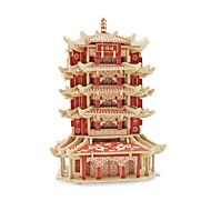 puslespil 3D-puslespil Byggesten Gør Det Selv Legetøj Kinesisk arkitektur