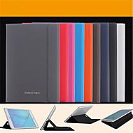 Mert Samsung Galaxy tok Állvánnyal / Flip / Mágneses Case Teljes védelem Case Egyszínű Műbőr Samsung Tab A 9.7 / Tab A 8.0