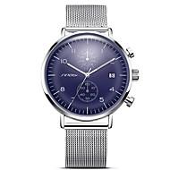 SINOBI Heren Volwassenen Sporthorloge Dress horloge Modieus horloge Polshorloge Unieke creatieve horloge Chinees KwartsKalender