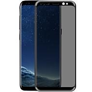 Edzett üveg Képernyővédő fólia mert Samsung Galaxy S8 Plus Védőfólia Karcolásvédő Betekintésvédelmi fólia 3D gömbölyített szélek