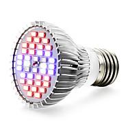 15W E27 LED Büyüyen Işıklar 40 SMD 5730 800-1200 lm Kırmızı Mavi UV (Siyah Işık) V 1 parça