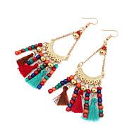 Damskie Kolczyki wiszące Biżuteria Modny Postarzane Bohemia Style Słodkie Style biżuteria kostiumowa Stop Biżuteria Na Codzienny Casual