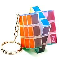 Rubik kocka Sima Speed Cube Átlátszó matrica állítható rugó LED világítás Rubik-kocka