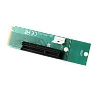 pci express pci-e 4x hunn til ngff M.2 m-tasten mannlige adapter converter kort med strømkabel