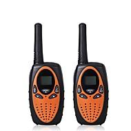 2 kpl mini walkie talkie lasten radio 1w uhf taajuus kannettava hf lähetin kinkku radio lasten lahja
