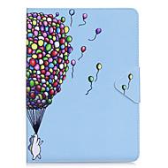 Θήκη για ipad air 2 pro 9.7 '' κάλυμμα περίπτωσης κάλυμμα μπαλονιού pu υλικό τριπλό tablet pc υπόθεση τηλέφωνο ipad 2 3 4 air