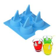 1 darab süteményformákba Shark Jég Ice Fagylalt SzilikonSütés eszköz Mindszentek napja Kreatív Konyha Gadget Karácsony Esküvő Születésnap