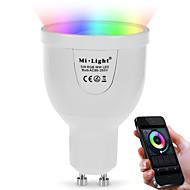 5W Okos LED izzók A60(A19) 12 SMD 5730 500 lm Dual Light Source Color RGB + fehérInfravörös érzékelő Tompítható Távvezérlésű WIFI