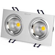 1pcs 6w recesso led spot luz celing luz amarelo / quente branco / branco ac220v tamanho furo 170mm ângulo do feixe 25