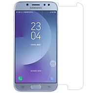Karkaistu lasi Näytönsuojat varten Samsung Galaxy J7 (2017) Näytönsuoja Tahraantumaton Teräväpiirto (HD) 9H kovuus 2,5D pyöristetty kulma