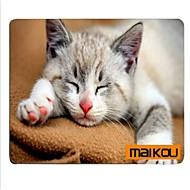 مايكو ماوس الوسادة القط يرتدي نظارات الكمبيوتر حصيرة الكمبيوتر العرض التبعي
