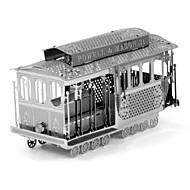 Legpuzzels DHZ-kit 3D-puzzels Bouw blokken DHZ-speelgoed Bus Roestvrijstaal