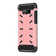 Hoesje voor Samsung Galaxy S8 S8 Plus hoesje King Kong serie PC-materiaal split anti-drop Armor telefoon hoesje