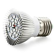 8W E14 GU10 E26/E27 LED-kasvivalo 18 SMD 5730 635-735 lm Punainen Sininen V 1 kpl