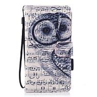 na portfel przypadku portmonetka z portmonetką z podstawką magnetyczną wzór pełna obudowa do ciała sowa twarda pu do galanterii samsung