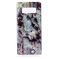 kotelo samsung-galaksimerkille 8 imd marmori takakansi pehmeä tpu-kotelo