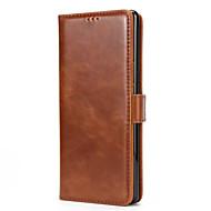 voor case cover kaarthouder portemonnee met stand flip magnetisch full body hoesje solid color hard pu leer voor Samsung Galaxy Note 8