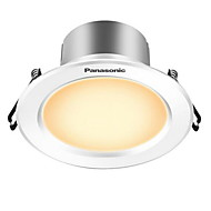 1pc 5w led downlight világítás könnyű sárga ac220v méretű lyuk 90mm 300lm