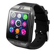 Q18 Akıllı Saat Aktivite TakipçisiUzun Bekleme Yakılan Kaloriler Adım Sayaçları Egzersiz Kaydı Kamera Alarm Saati Mesafe Takip Topluluk