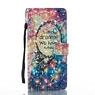 voor case cover kaarthouder portemonnee met tribune flip patroon full body case droom catcher hard pu leer voor Samsung Galaxy Note 8